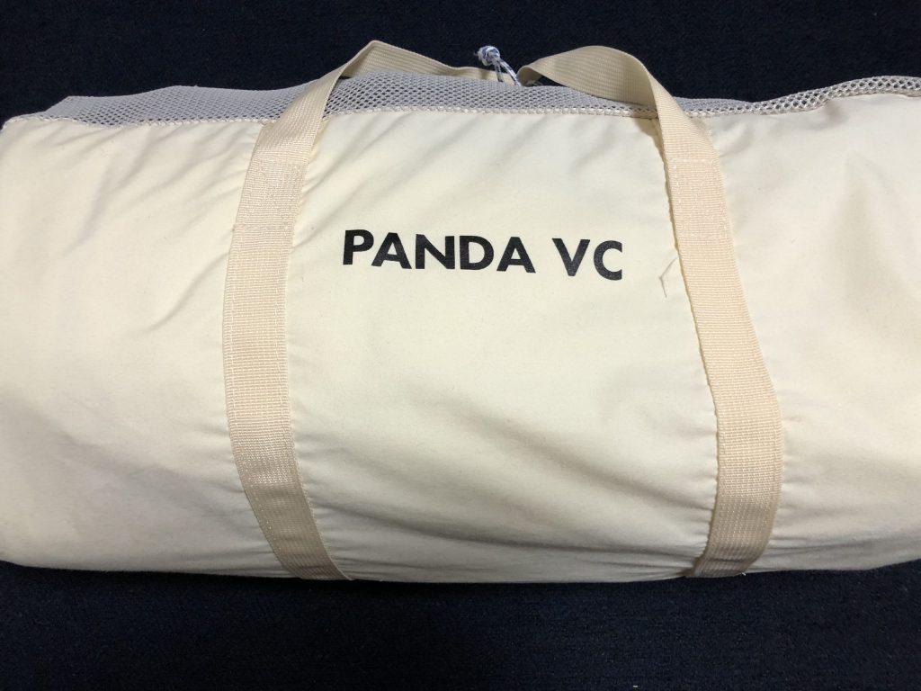 パンダVCのケースの裏のロゴ