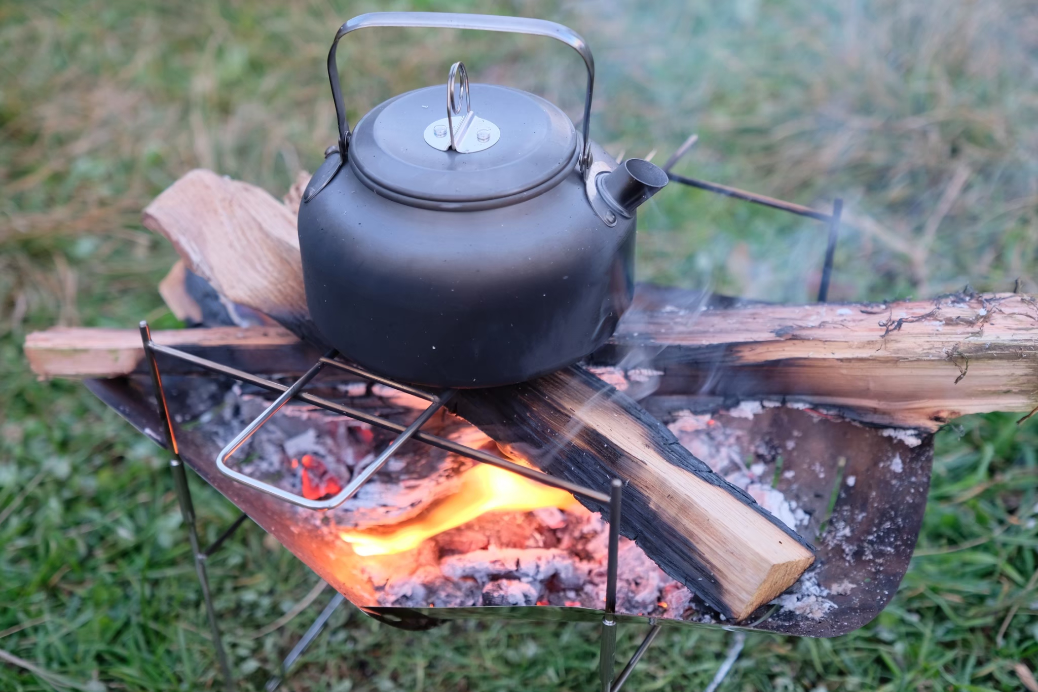 ピコグリル398でお湯を沸かす