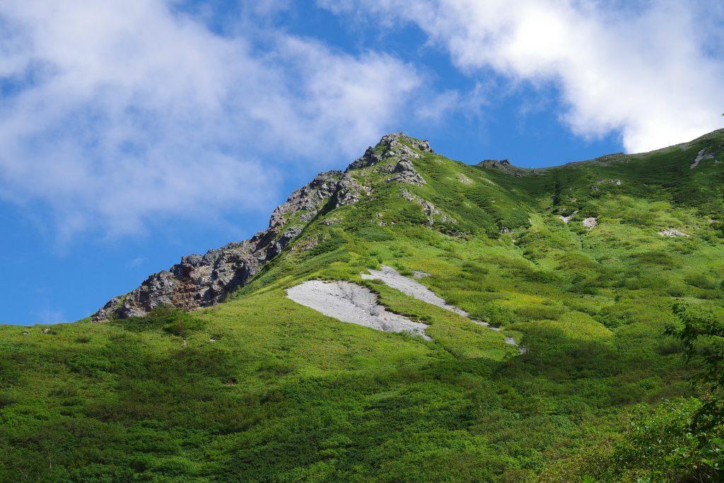 槍ヶ岳登山道