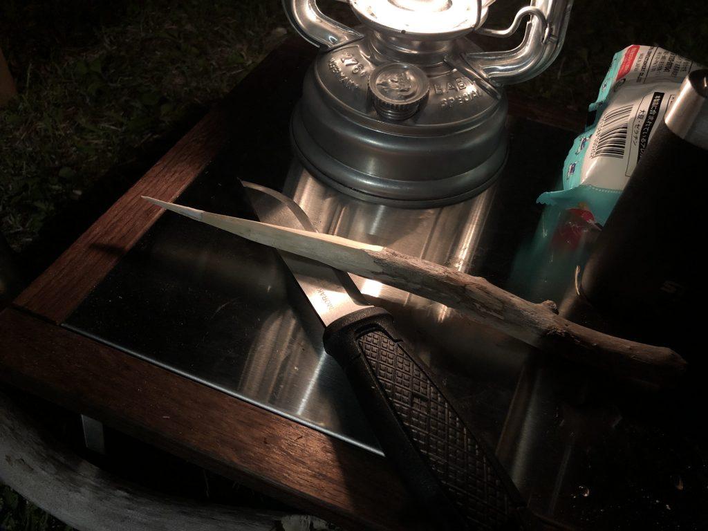 ランタンとナイフ