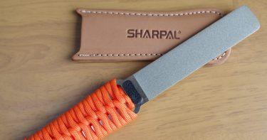 キャンプ用刃物の研ぎ直しはこれ一本でOK!SHARPAL ダイヤモンドシャープナー