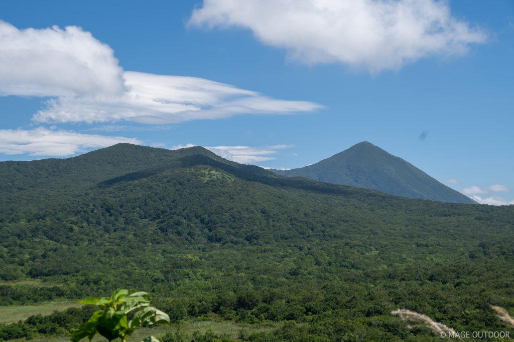 猫魔ヶ岳と磐梯山