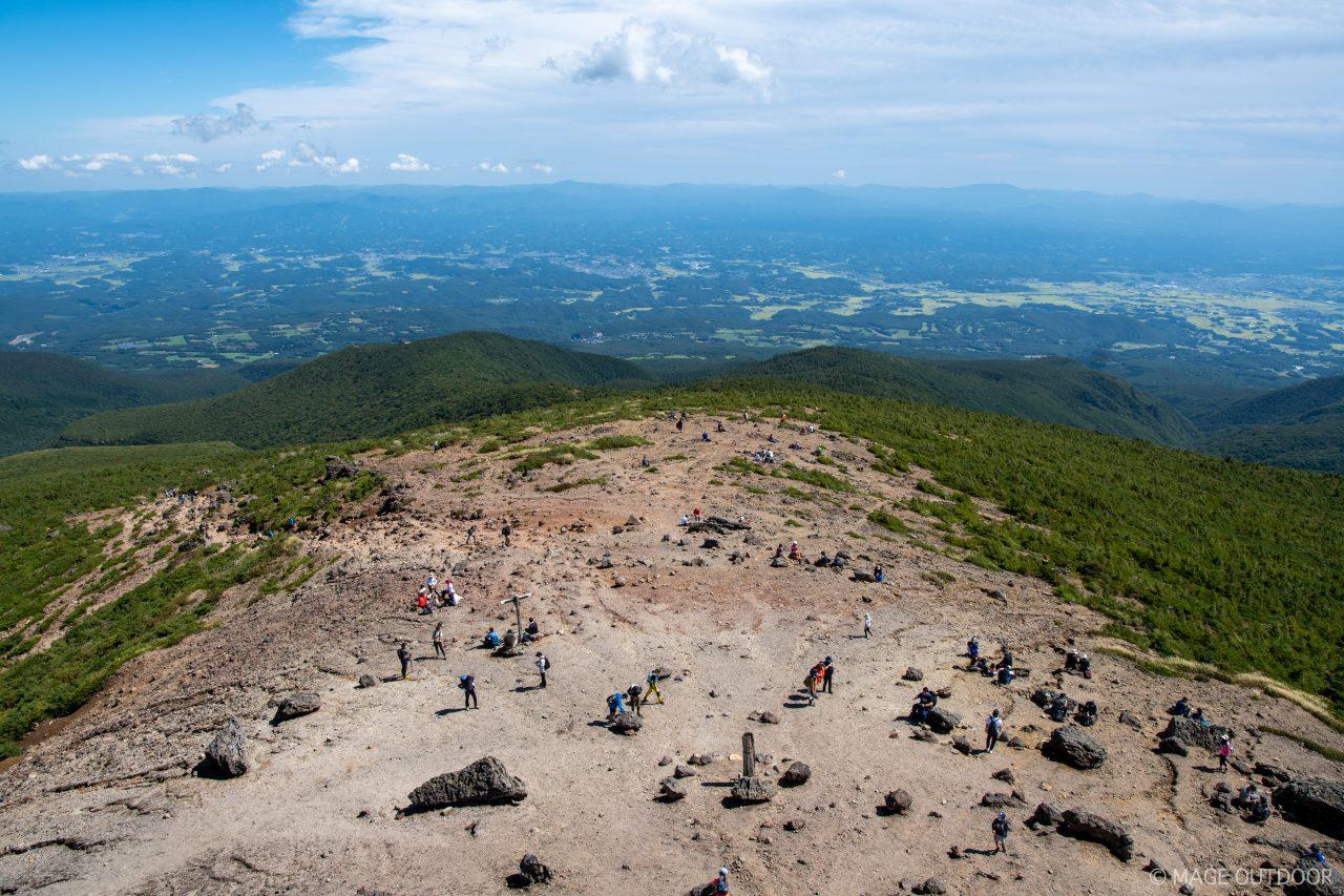 安達太良山頂からの展望